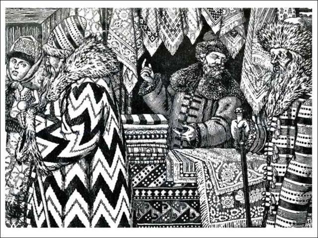 Калашников и Кирибеевич. Сравнительная характеристика - сочинение (7 класс)