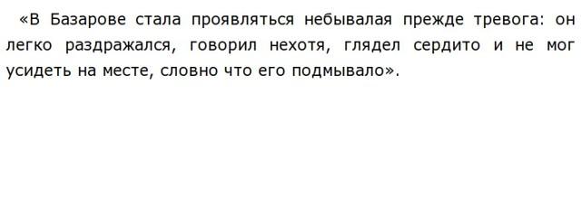 История любви Евгения Базарова и Анны Сергеевны Одинцовой в романе Отцы и дети