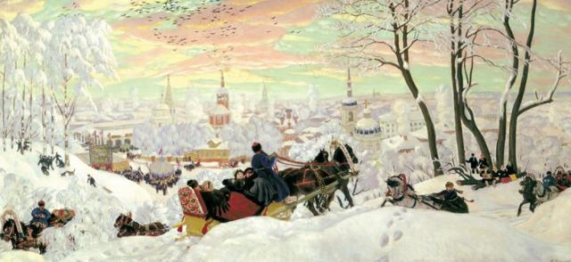 Сочинение-описание картины Масленица Кустодиева (7 класс)