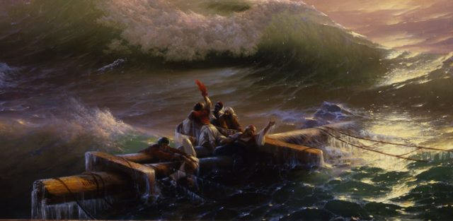 Сочинение по картине Девятый вал Айвазовского (3, 4, 6, 7, 9, 10 класс описание 9 вал)