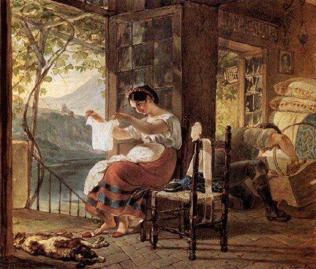 Сочинение по картине Бахчисарайский фонтан Брюллова