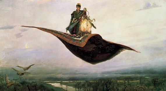Сочинение-описание по картине Ковер-самолет Васнецова (5, 6 класс)