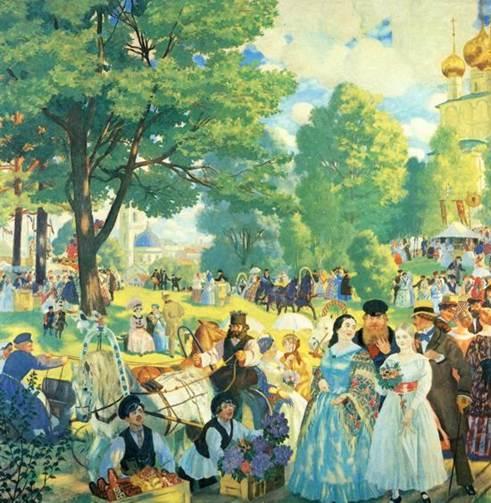 Сочинение по картине Три женщины Лутфуллина