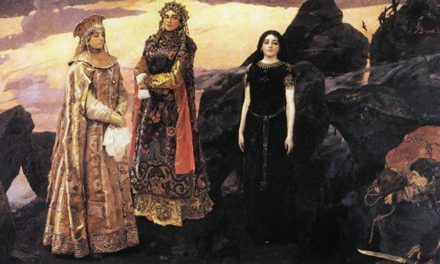 Сочинение по картине Три царевны подземного царства Васнецова (3, 4, 5 класс)