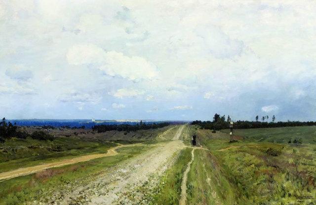 Сочинение по картине Владимирка Левитана (описание)