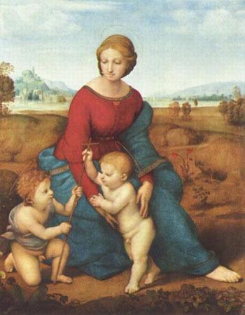 Сочинение-описание по картине Сикстинская Мадонна Рафаэля