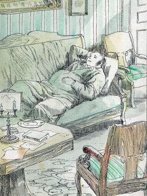 Сочинение Детство Обломова в романе Обломов