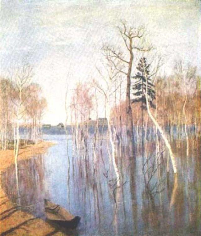 Сочинение по картине После дождя. Плес Левитана (Описание 7, 8 класс)