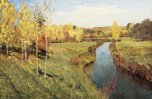 Сочинение-описание по картине Золотая осень Поленова (2, 3, 4, 5, 7 класс)