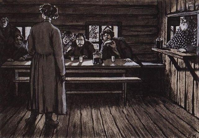 Герои произведения Певцы Тургенева