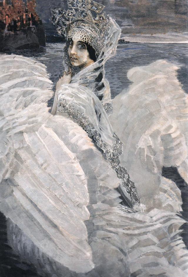 Сочинение по картине Царевна Лебедь Врубеля (описание 3, 4, 5, 7 класс)