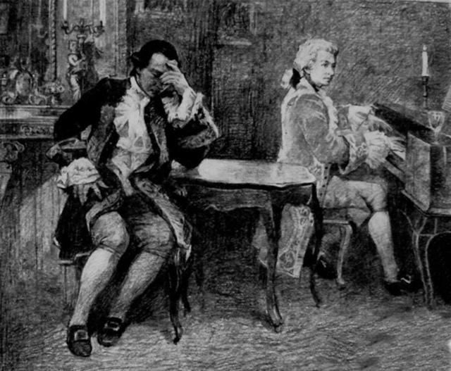 Анализ пьесы «Моцарт и Сальери» Пушкин