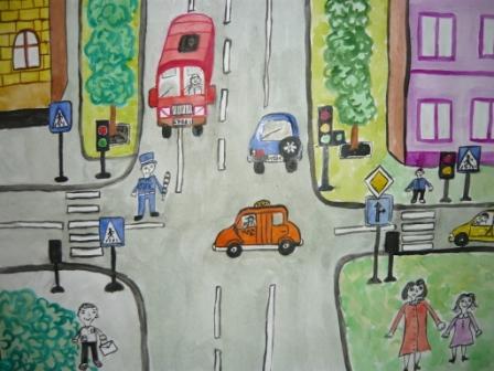 Сочинение на тему Правила дорожного движения (2, 3, 4, 5, 7, 9 класс)