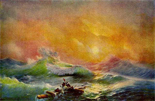 Сочинения по картинам Айвазовского