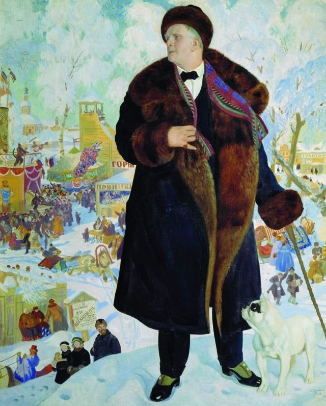 Сочинение-описание картины Портрет Ф. И. Шаляпина Кустодиева (8 класс)