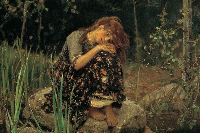 Сочинение-описание по картине Аленушка Васнецова