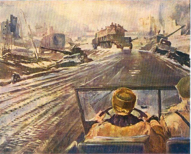 Сочинение по картине Новая Москва Пименова (3, 8 класс описание)