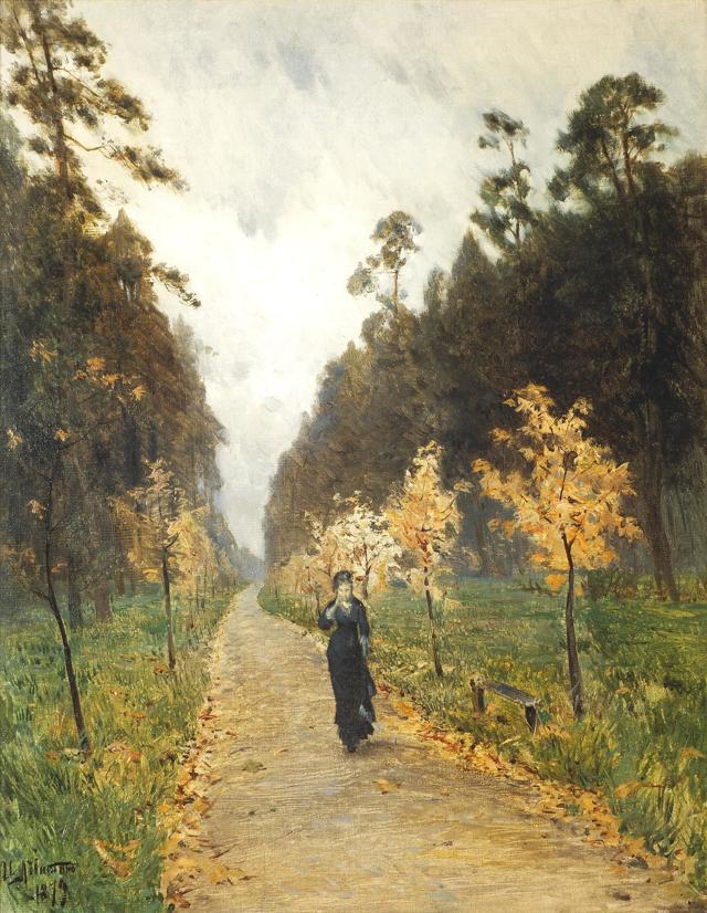 Сочинение-описание картины Осенний день. Сокольники Левитана