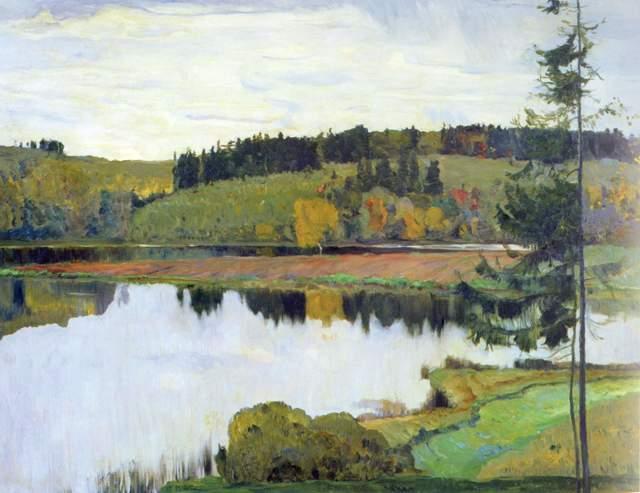 Сочинение-описание по картине Осенний пейзаж Нестерова (3, 6 класс)