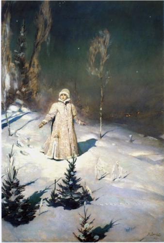 Сочинение-описание картины Снегурочка Васнецова (3, 5 класс)