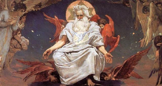 Сочинение-описание по картине Единородный Сын Слово Божие Васнецова