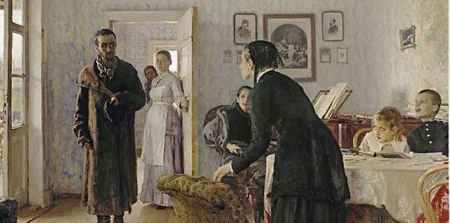 Сочинение Описание картины Бурлаки на Волге Репина (5 класс)