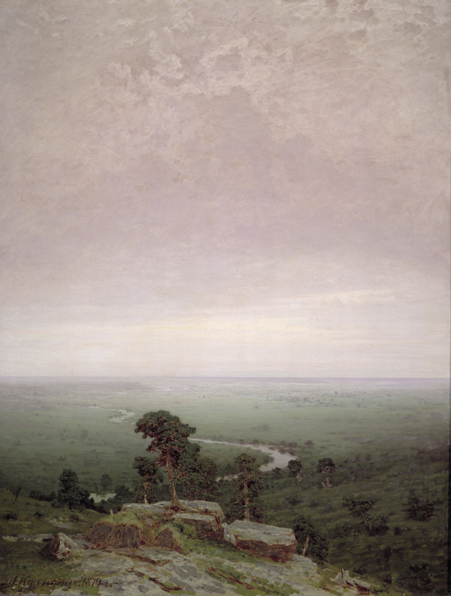 Сочинение-описание по картине Север Куинджи