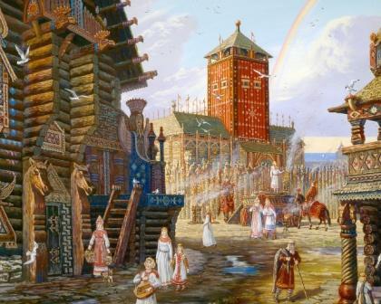 Сочинение Князь Всеволод в Слове о полку Игореве (Образ и характеристика)