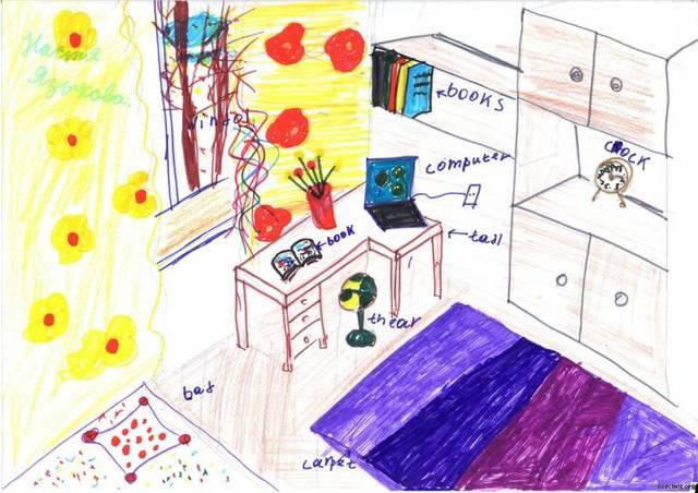 Сочинение на тему Комната моей мечты (6 класс)