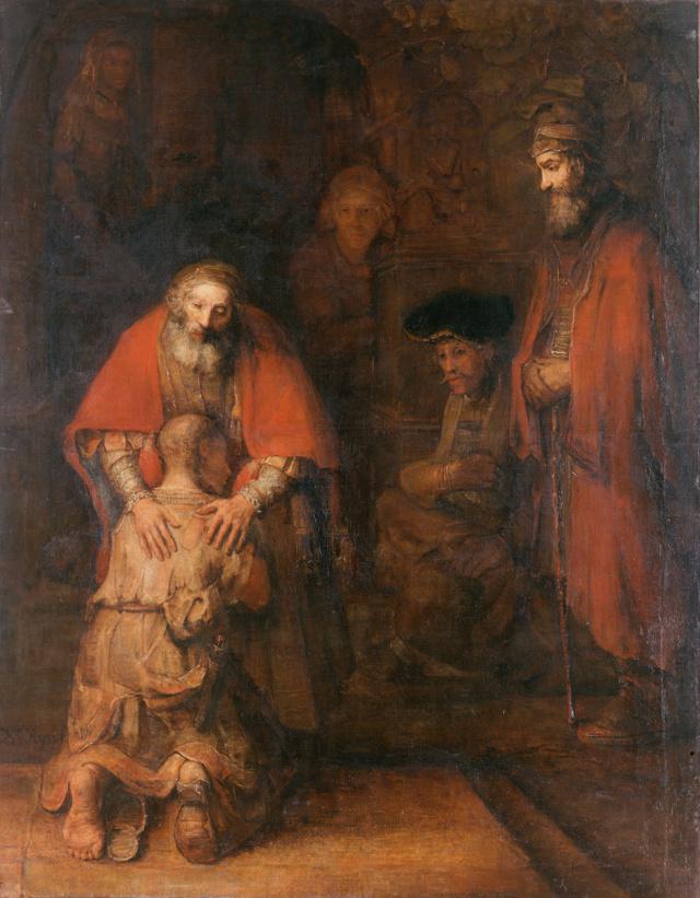 Сочинение-описание по картине Возвращение блудного сына Рембрандта