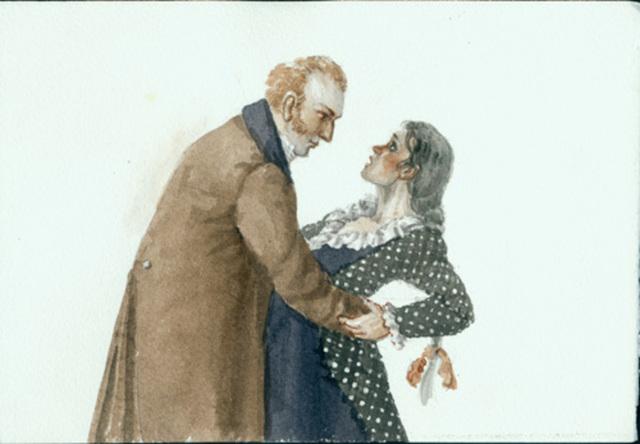 Сочинение Молчалин в комедии Горе от ума (Образ и характеристика)