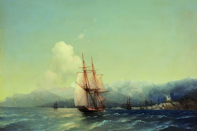 Сочинение Описание картины Морской пейзаж Айвазовского