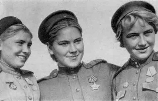 Женщина на войне - сочинение
