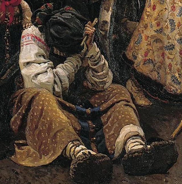 Сочинение-описание картины Утро стрелецкой казни Сурикова
