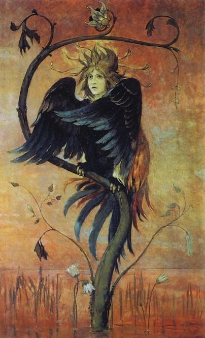 Сочинение по картине Сирин и Алконост. Песнь радости и печали Васнецова (описание)
