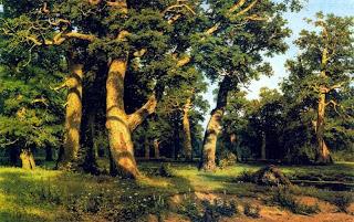 Сочинение по картине Дождь в дубовом лесу Шишкина (3 класс)