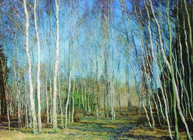 Сочинение-описание по картине Голубая весна Бакшеева (2, 3, 8 класс)