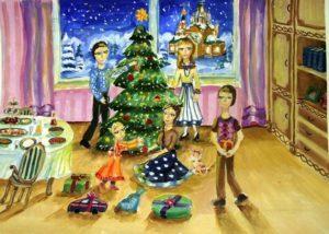Новый год в моей семье - сочинение