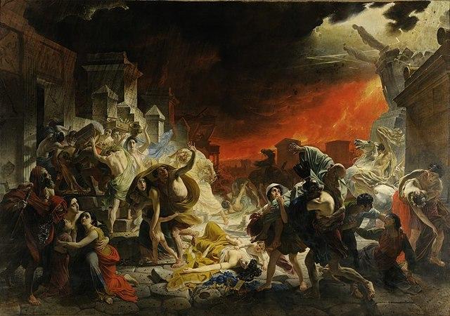 Сочинение-описание по картине Последний день Помпеи Брюллова (6, 7 класс)