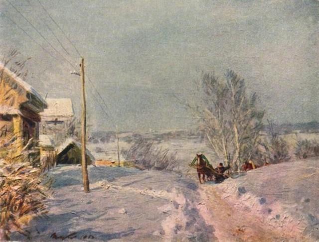 Сочинение от 1 лица по картине Мороз и солнце Цыплакова (от первого лица)
