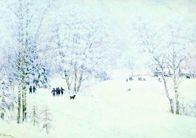 Сочинение по картинам Юона