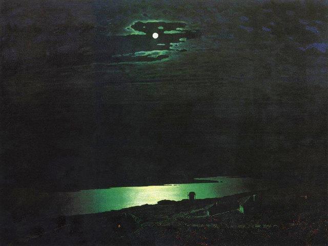 Сочинение по картине Лунная ночь на Днепре Куинджи (3, 8 класс)