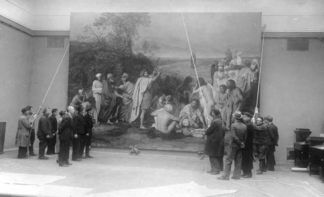 Сочинение-описание по картине Явление Христа Марии Магдалине после Воскресения Иванова