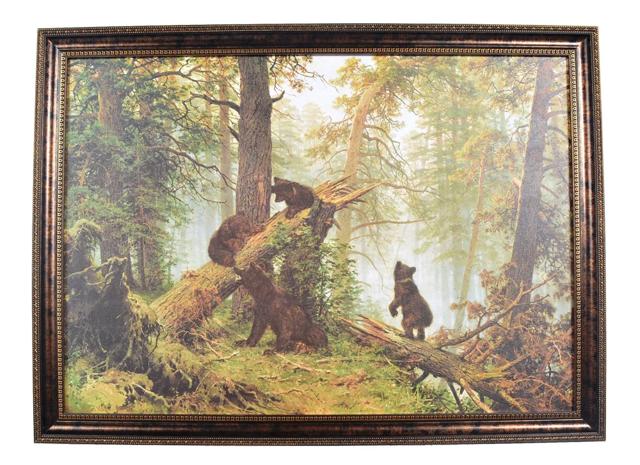 Сочинение Описание картины Утро в сосновом лесу Шишкина (2, 3, 4, 5, 6 класс)