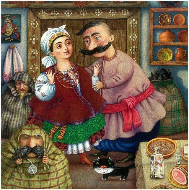 Сочинение по произведению Ночь перед Рождеством Гоголя