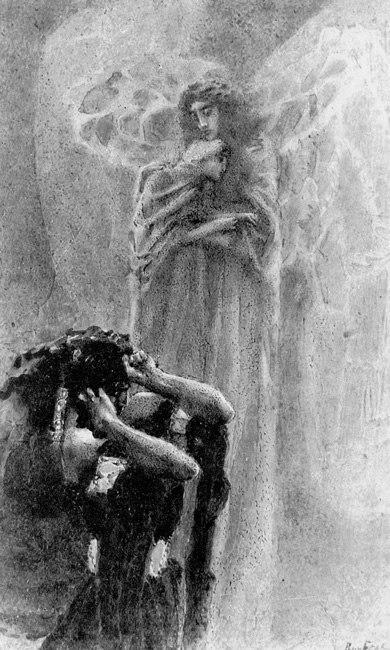 Сочинение по картине Демон поверженный Врубеля